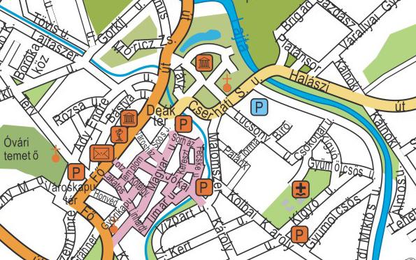 mosonmagyaróvár térkép Térkép   LaserDerm   Mosonmagyaróvár